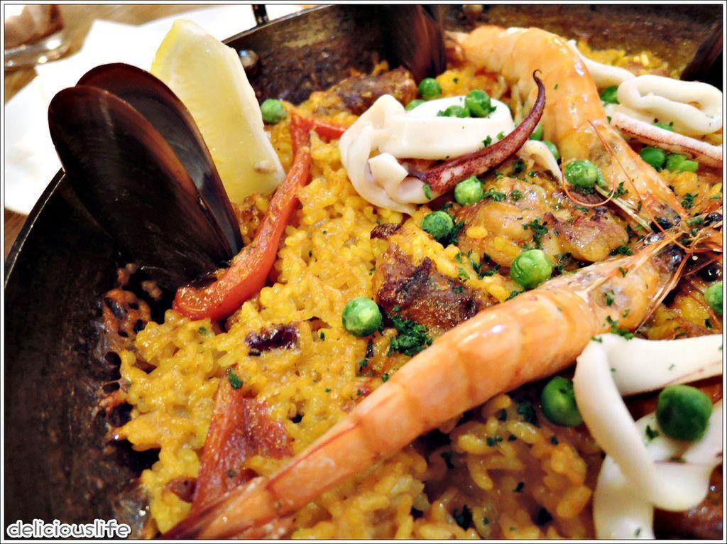經典西班牙海鮮飯780-2