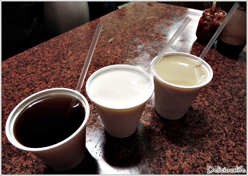 紅茶15&杏仁牛奶30&紅茶豆漿15