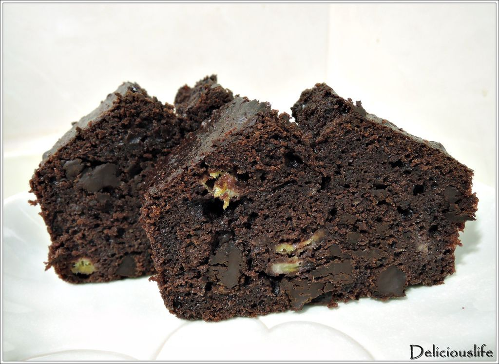 banana chocolate pound cake-10