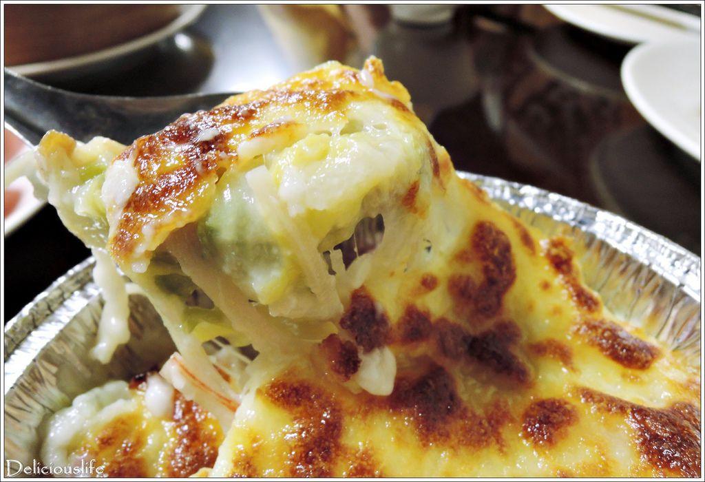 海鮮烤白菜98-2