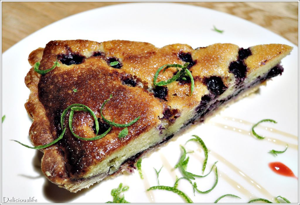 每日甜點藍莓派140-2