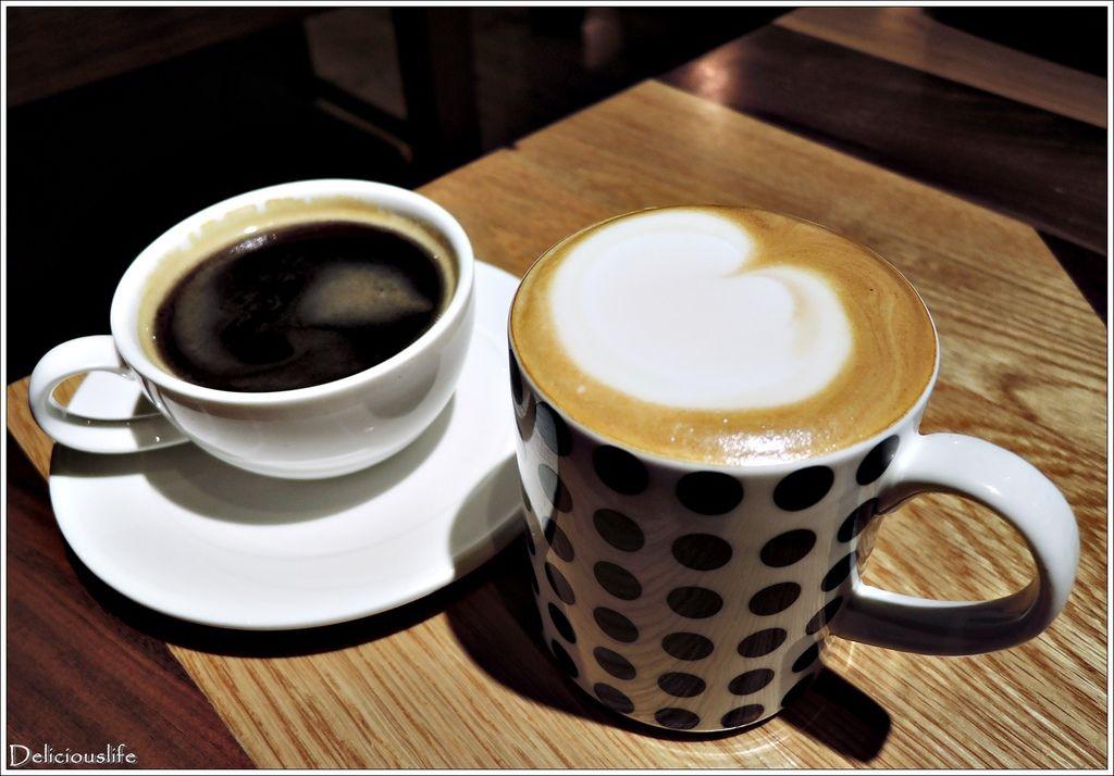 套餐黑咖啡&熱煉奶拿鐵160
