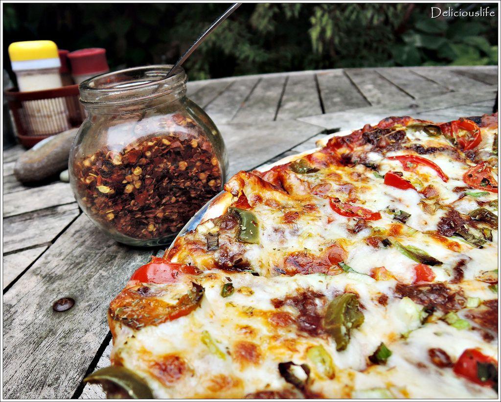 墨西哥辣味豬肉披薩350-2
