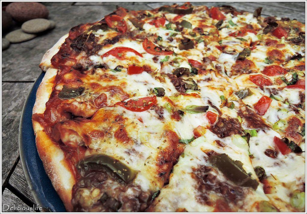 墨西哥辣味豬肉披薩350-3