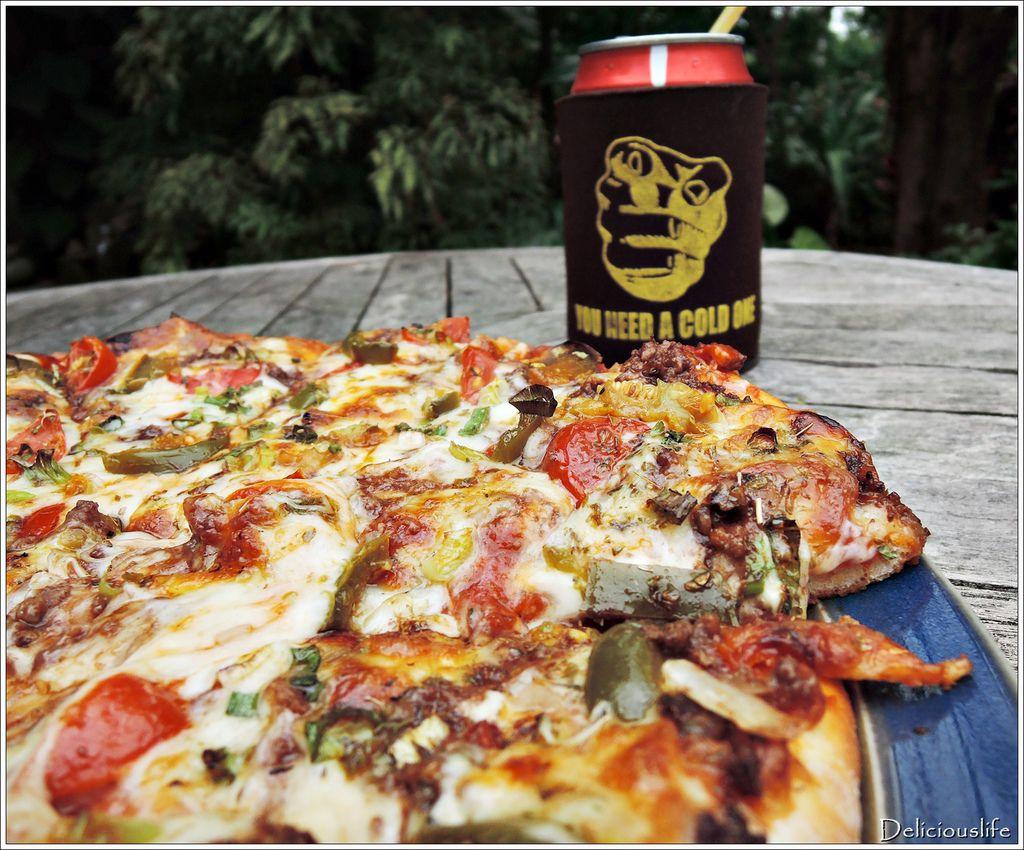 墨西哥辣味豬肉披薩350-4