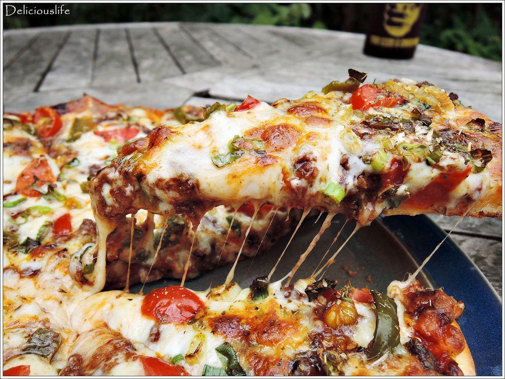 墨西哥辣味豬肉披薩350-5