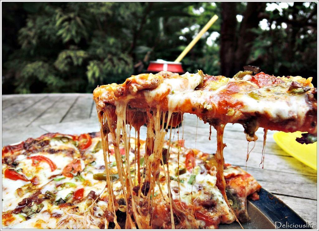 墨西哥辣味豬肉披薩350-6