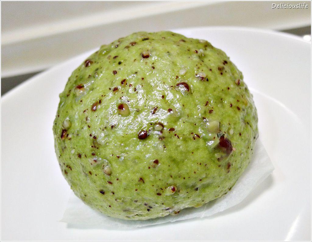 抹茶紅豆饅頭25-1