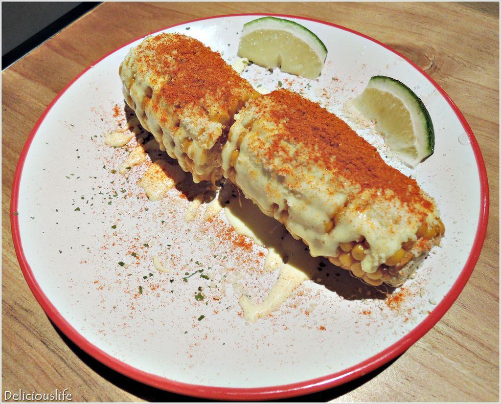 墨西哥起司烤玉米90-1