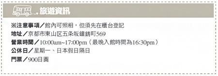 河井寬次郎記念館-旅遊資訊