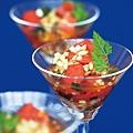《名媛主廚EMI教你做時尚宴客料理》義大利番茄沙拉