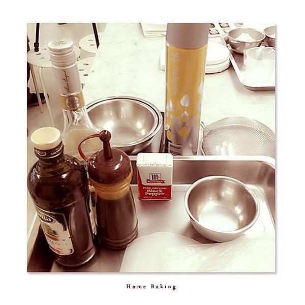 星期天的烘焙時光-拍攝花絮1