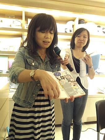 2012.8.25誠品敦南文具館《傳奇筆記本MOLESKINE》讀者面對面分享會-7