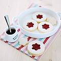 《每天都是餅乾日。175道人氣手工餅乾的創意魔法》林茲果醬餅