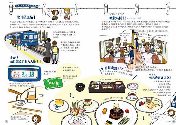 《列車進站中!日本夢幻鐵道手帖》-北斗星號1