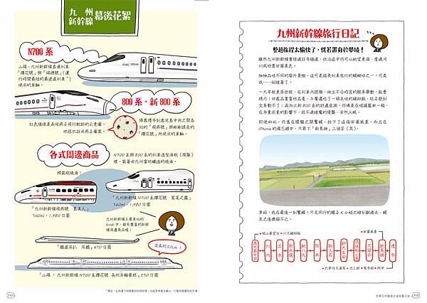 《列車進站中!日本夢幻鐵道手帖》-九州新幹線10