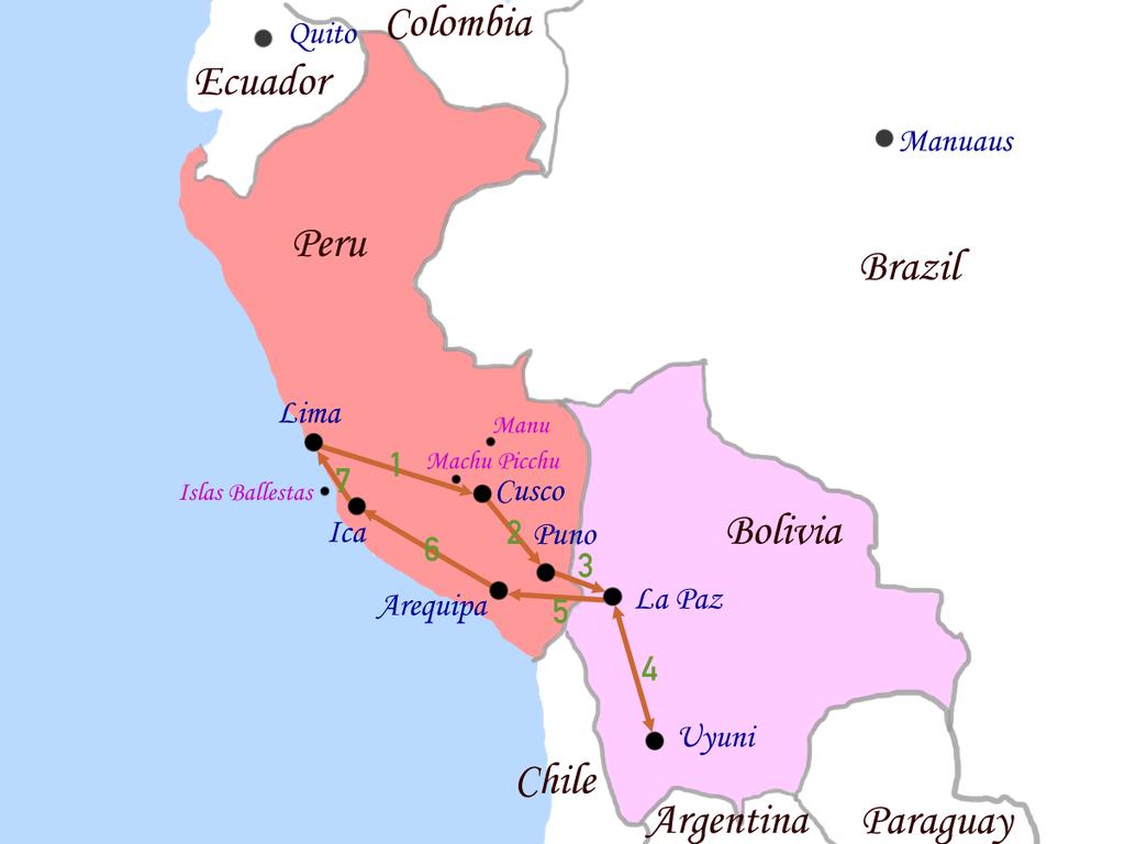 peru y bolivia