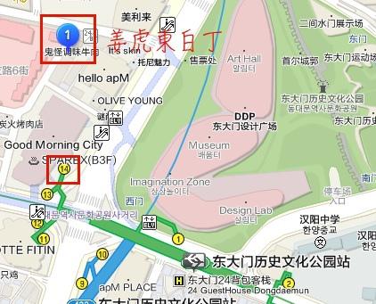 姜虎東白丁地圖