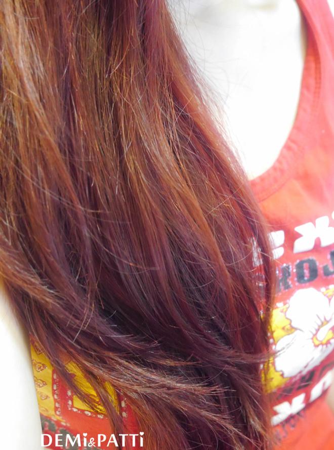 染髮_DIY_紅髮_卡樂芙染髮霜 _FEAZAC修護染_顯色
