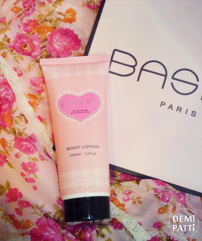 BASHA巴莎同名女性淡香精+身體乳_香水推薦