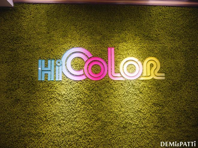 Hi Color 藝術染護中心_西門町_韓妞_平價_星空髮_銀河髮_粉霧紫