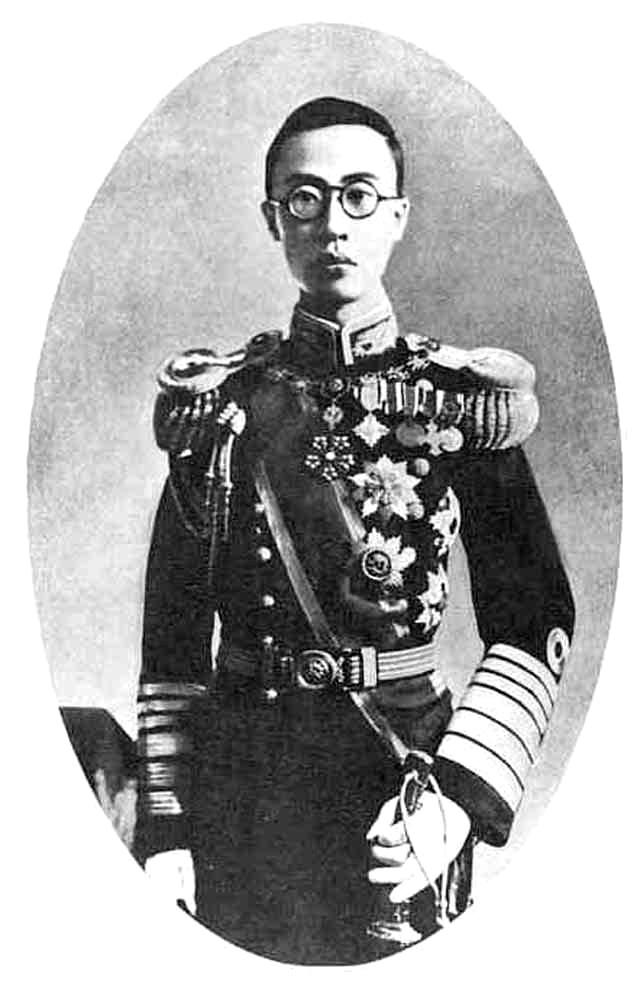 偽滿洲國皇帝溥儀