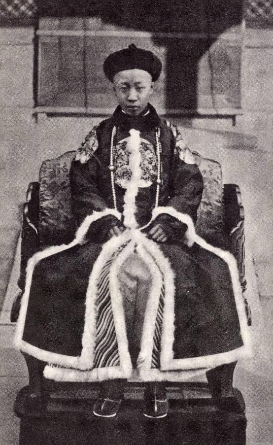 退位後的宣統皇帝溥儀