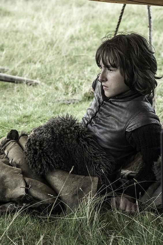 Isaac Hempstead as Bran Stark