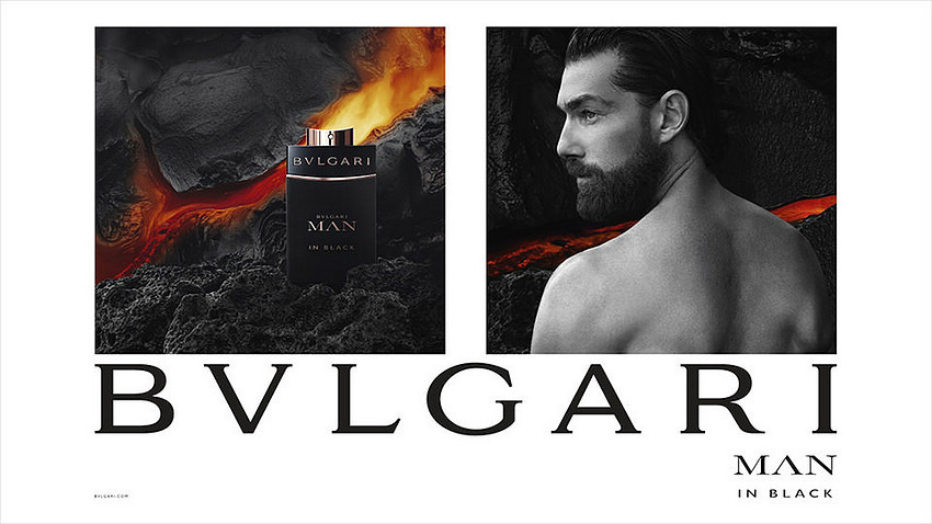 Patrick Petitjean by Mark Segal for Bvlgari Man in Black Fragrance Campaign