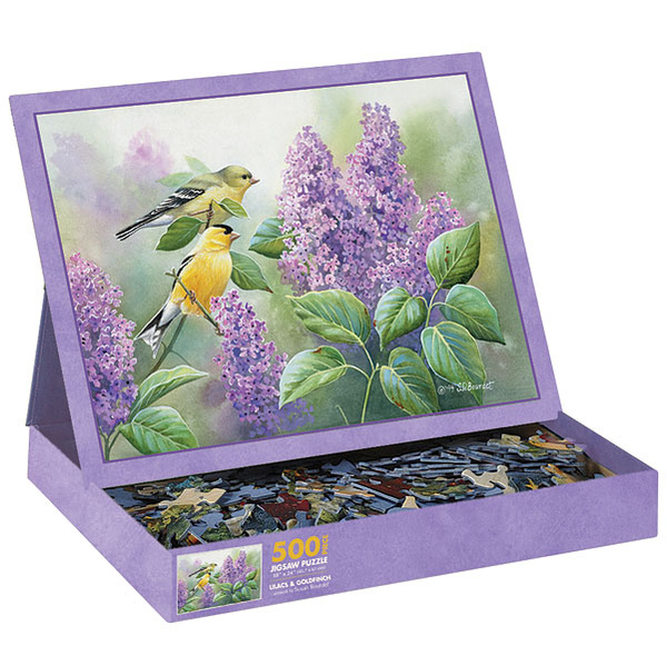 Goldfinch and Lilacs.jpg