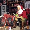 Santa's Motorcycle