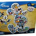 Disney Shaped Puzzle - Mickey Mouse