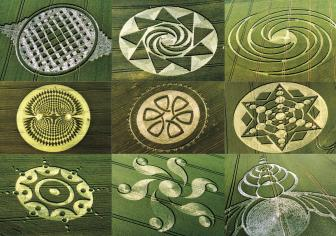 Crop Circle Collection Collage