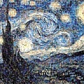 Starry Night, Photomosaic