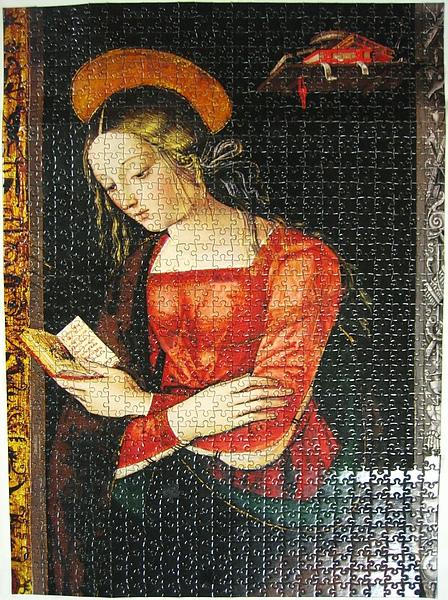 少女聖母肖像