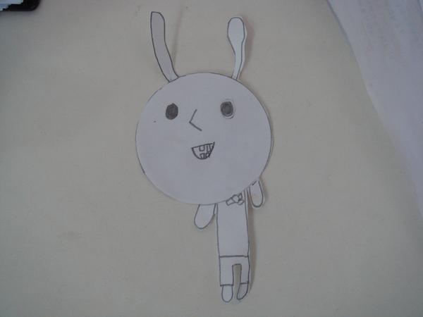 小蘿莉畫的兔子