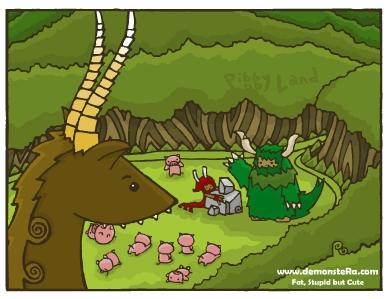 3-1 Piggy Land