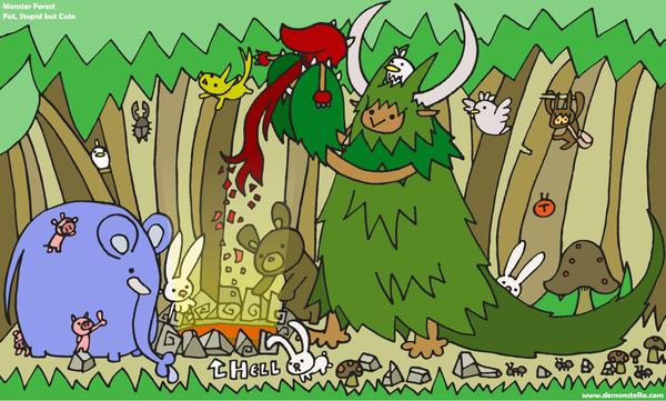怪物們的森林