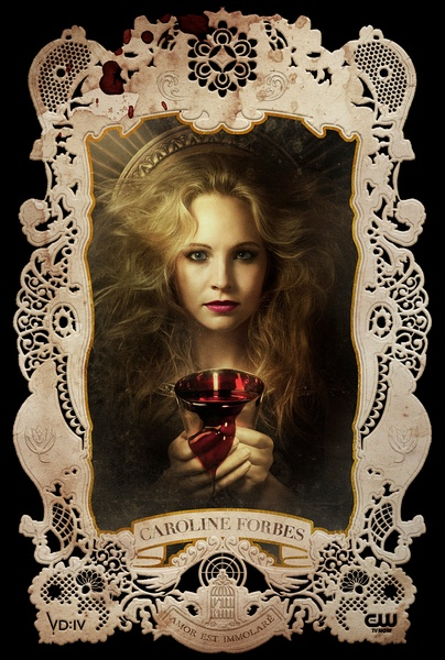 The Vampire Diaries Season 4 人物宣傳照