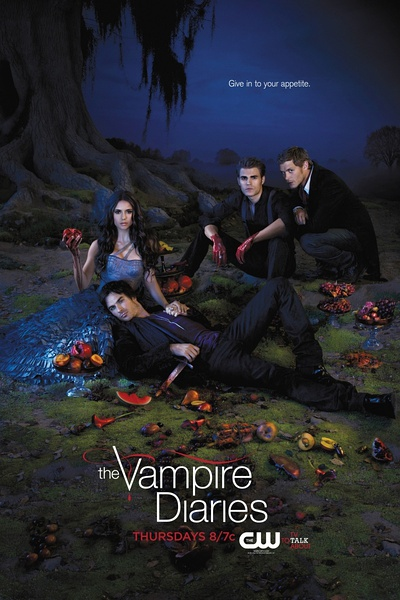 The Vampire Diaries Season 3 海報