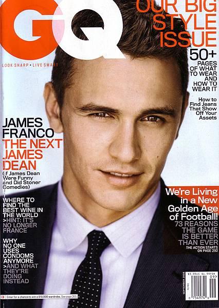 James Edward Franco - GQ magazine cove