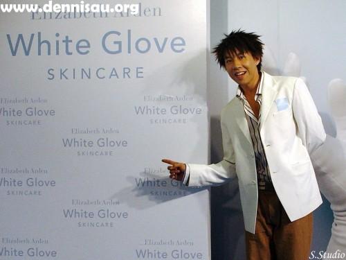 Dennis_20080215伊麗莎白雅頓White Glove世紀之美天使白新品上市記者會_3.jpg