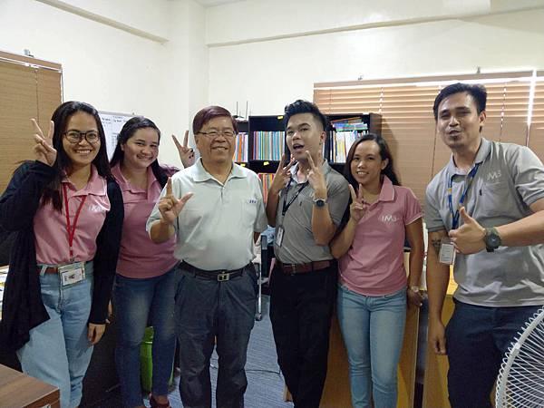 IMS語言學校遊學-與同學合照