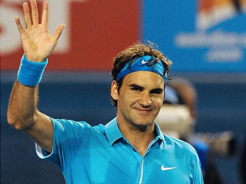 Roger Federer球王風範