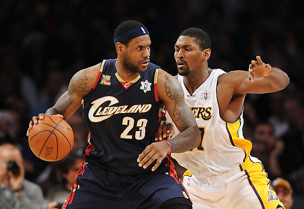 Ron Artest vs LeBron James