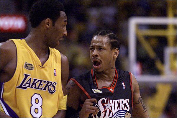 Iverson vs Kobe Bryant