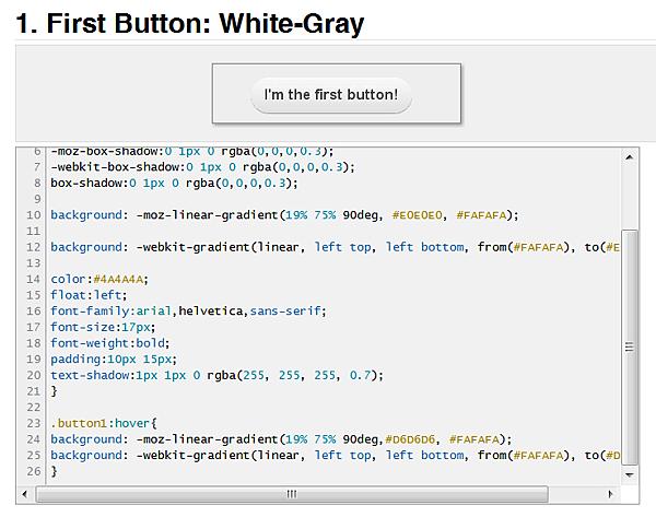 css3 互動式按鈕語法