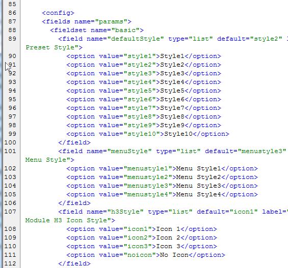 joomla佈景主題升級2.5