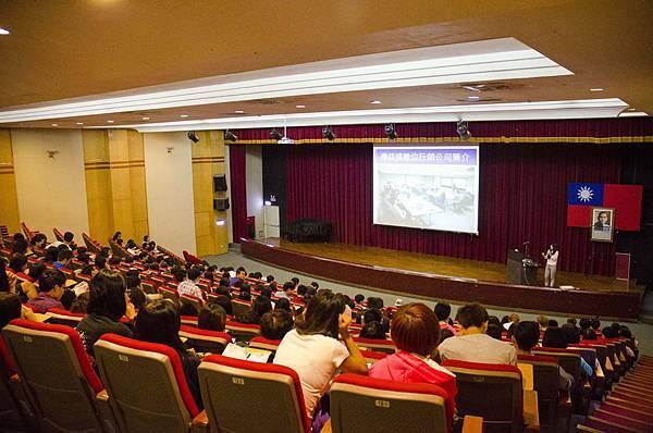 鼎益盛受邀健行大學業界講師演講網路行銷