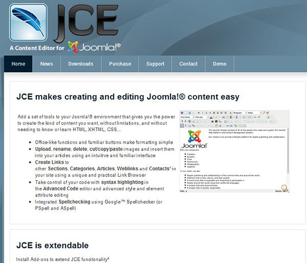 JCE編輯器